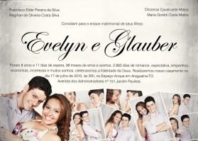 convite de casamento com foto 8