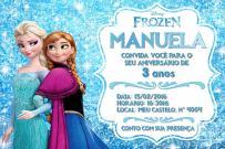 dicas-de-convites-aniversário-infantil-frozen